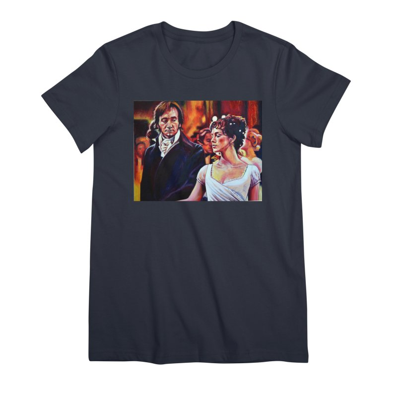 darcy-bennet Women's Premium T-Shirt by paintings by Seamus Wray