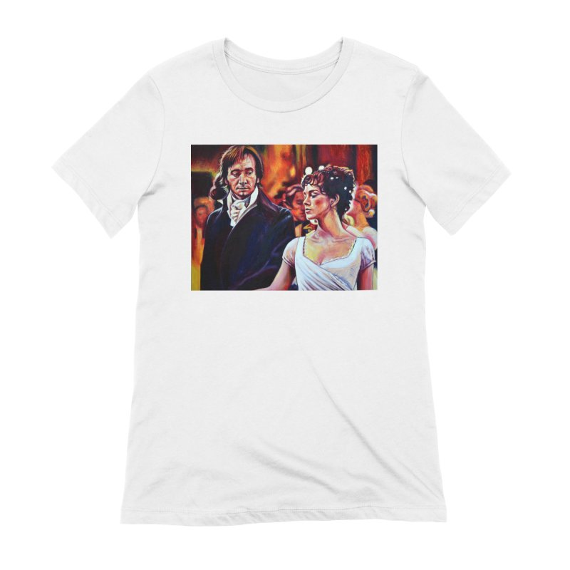 darcy-bennet Women's Extra Soft T-Shirt by paintings by Seamus Wray