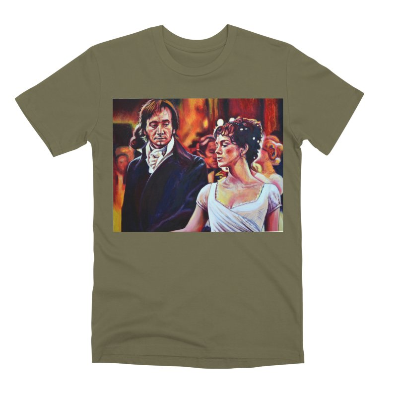 darcy-bennet Men's Premium T-Shirt by paintings by Seamus Wray