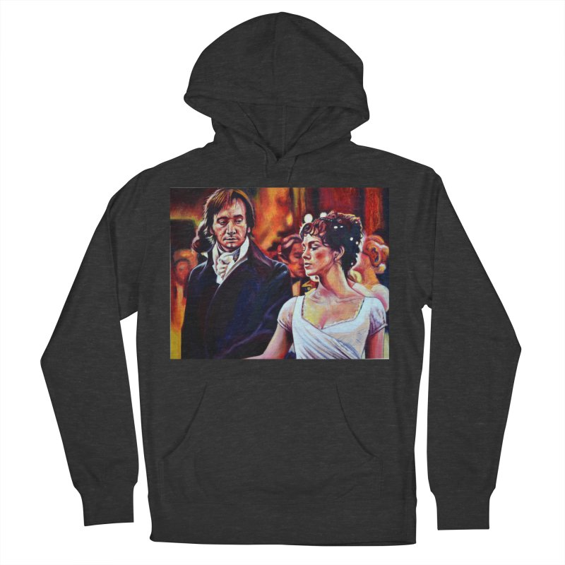 darcy-bennet Men's French Terry Pullover Hoody by paintings by Seamus Wray