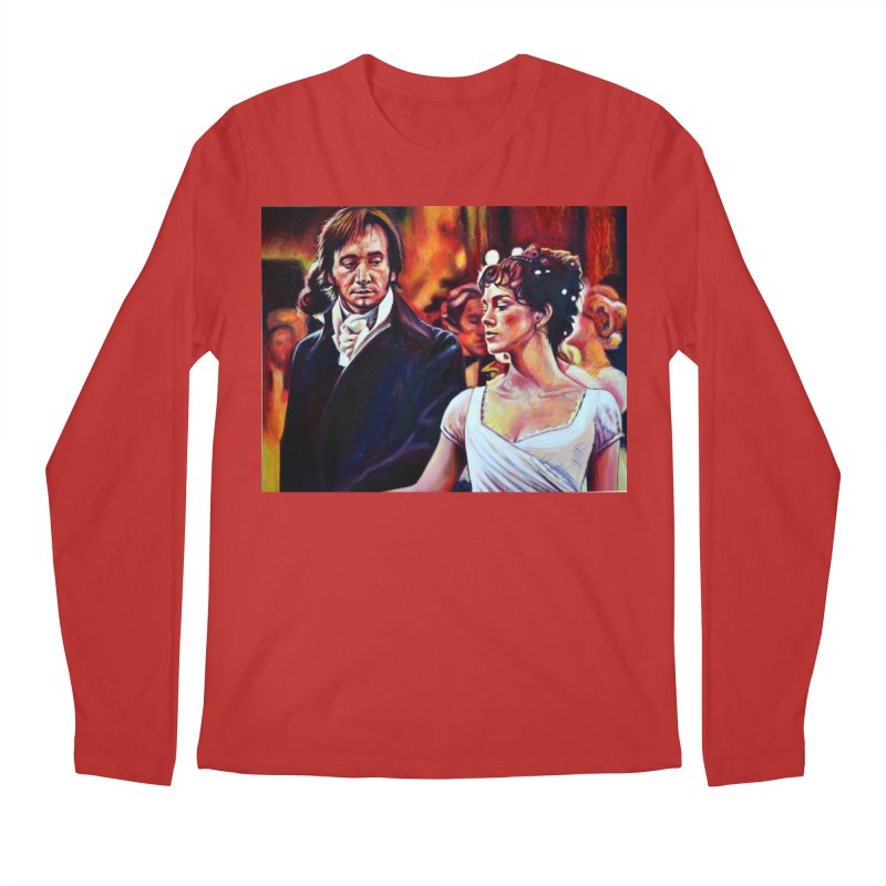 darcy-bennet Men's Regular Longsleeve T-Shirt by paintings by Seamus Wray