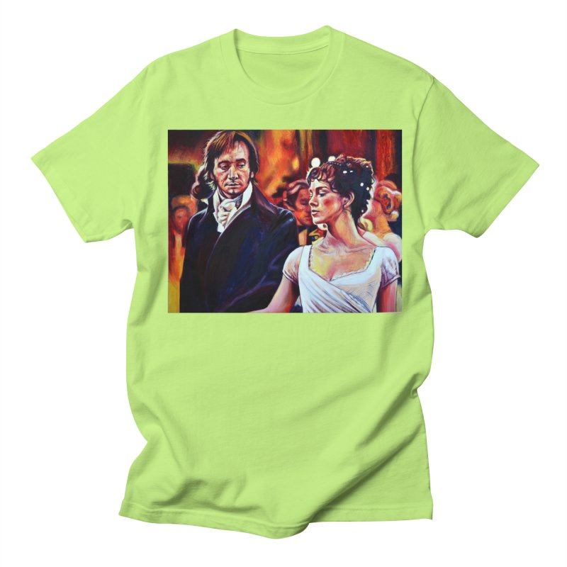 darcy-bennet Men's Regular T-Shirt by paintings by Seamus Wray