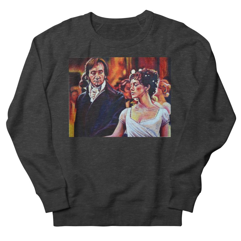 darcy-bennet Men's French Terry Sweatshirt by paintings by Seamus Wray