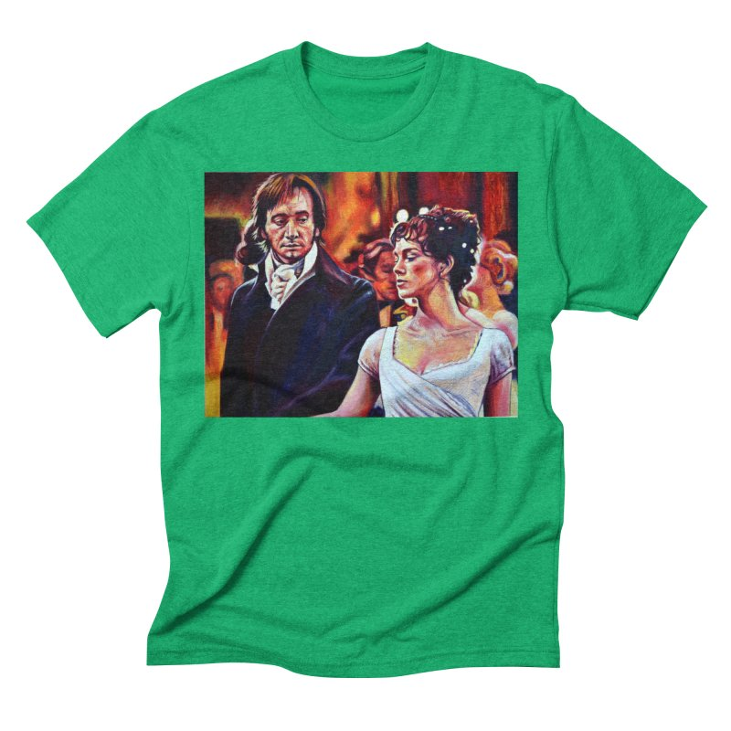 darcy-bennet Men's Triblend T-Shirt by paintings by Seamus Wray