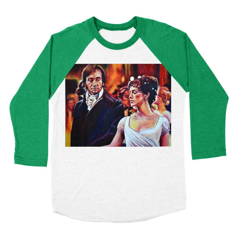 darcy-bennet Women's Baseball Triblend Longsleeve T-Shirt by paintings by Seamus Wray
