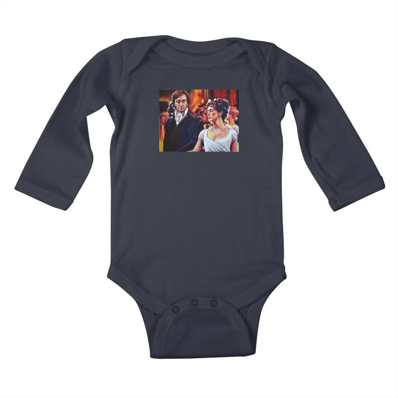 """darcy-bennet Kids Baby Longsleeve Bodysuit by Art Prints by Seama available under """"Home"""""""