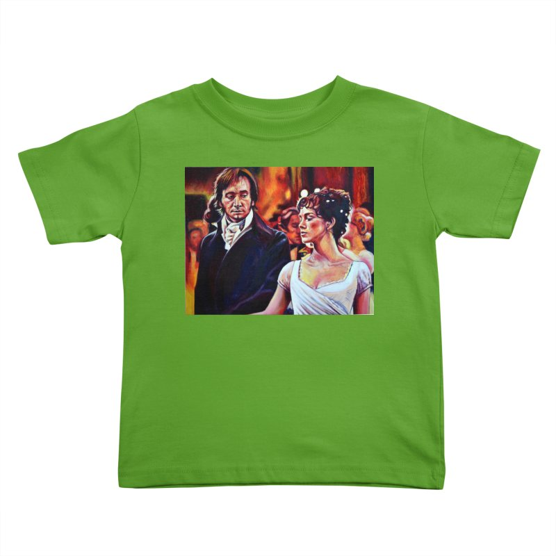 darcy-bennet Kids Toddler T-Shirt by paintings by Seamus Wray