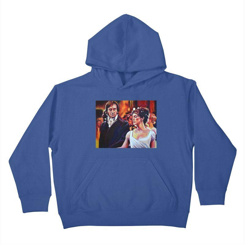 darcy-bennet Kids Pullover Hoody by paintings by Seamus Wray