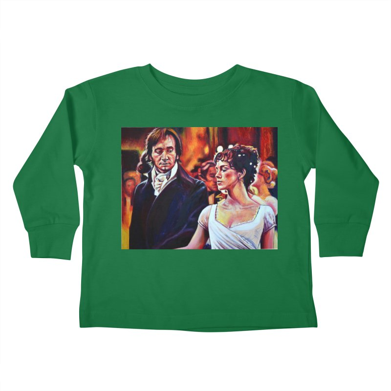 darcy-bennet Kids Toddler Longsleeve T-Shirt by paintings by Seamus Wray
