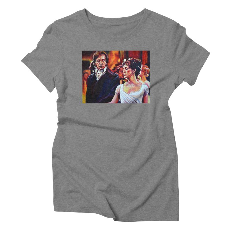 darcy-bennet Women's Triblend T-Shirt by paintings by Seamus Wray