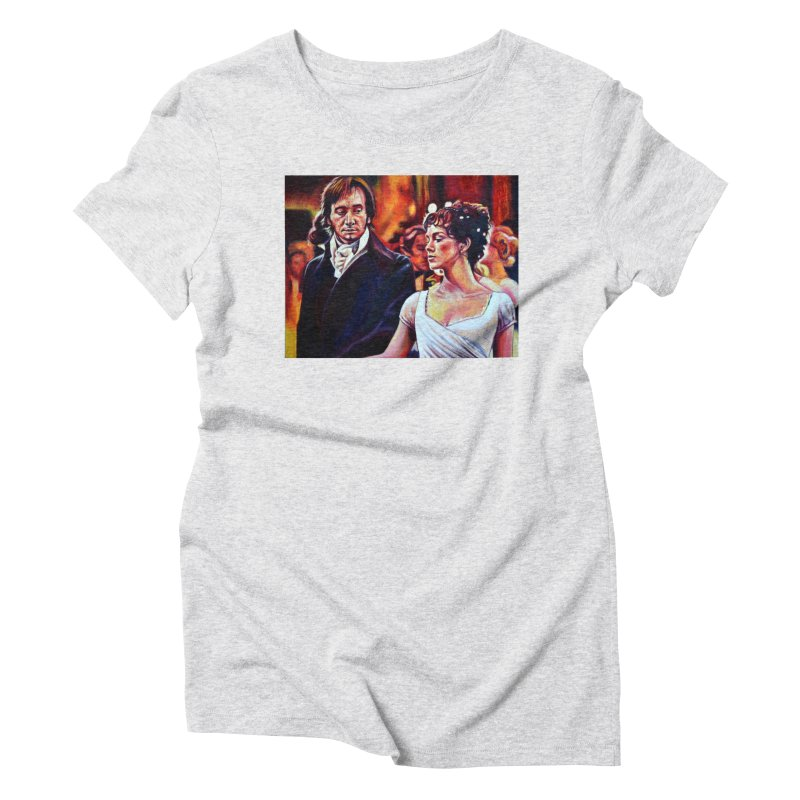 darcy-bennet Women's T-Shirt by paintings by Seamus Wray