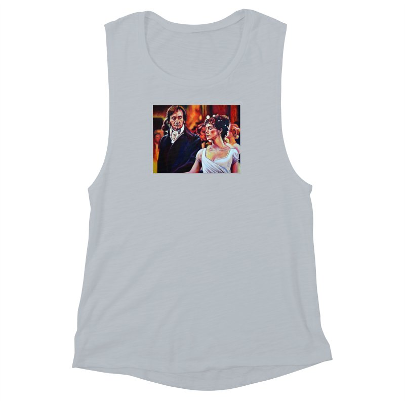 darcy-bennet Women's Muscle Tank by paintings by Seamus Wray