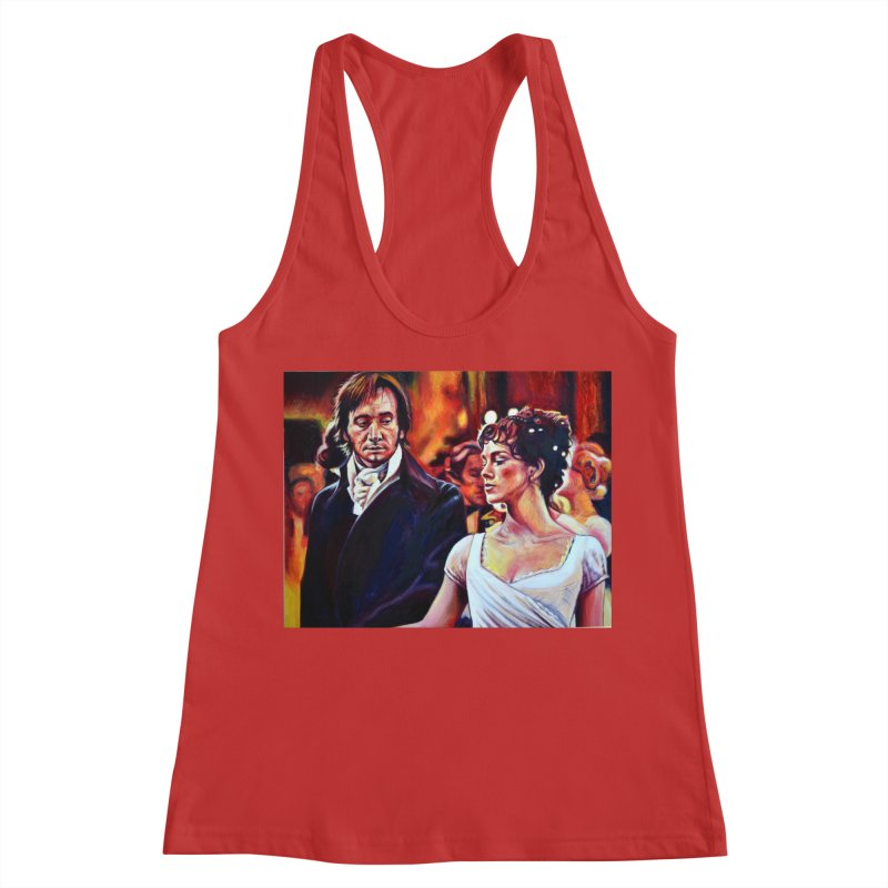 darcy-bennet Women's Racerback Tank by paintings by Seamus Wray
