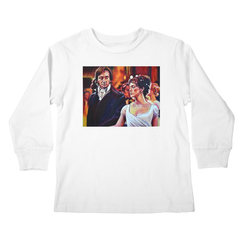 darcy-bennet Kids Longsleeve T-Shirt by paintings by Seamus Wray