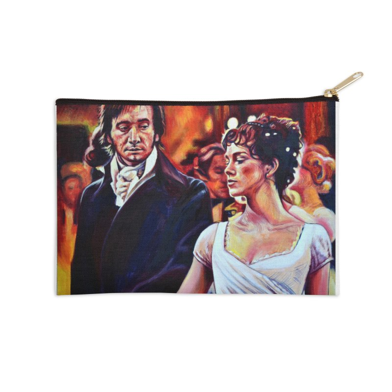 darcy-bennet Accessories Zip Pouch by paintings by Seamus Wray