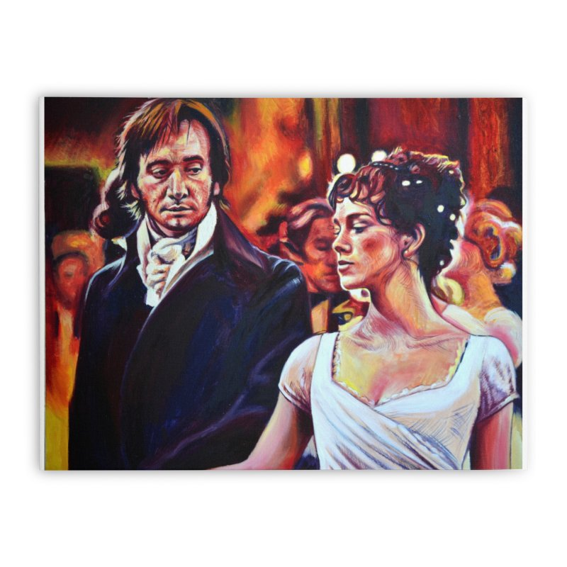 darcy-bennet Home Stretched Canvas by paintings by Seamus Wray