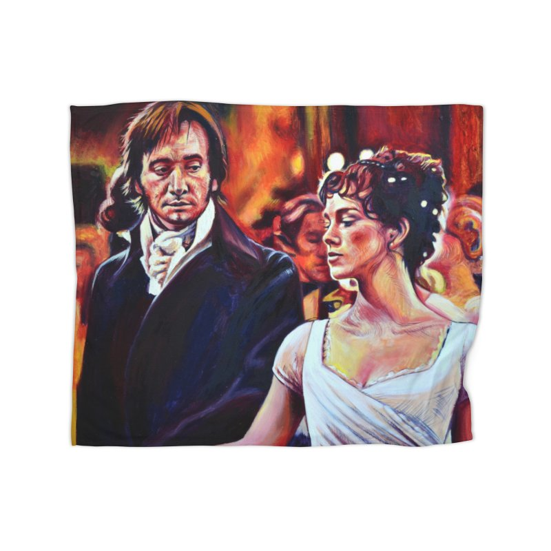 darcy-bennet Home Fleece Blanket Blanket by paintings by Seamus Wray