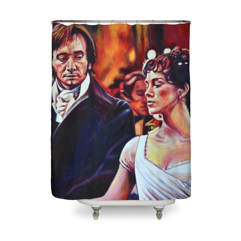 darcy-bennet Home Shower Curtain by paintings by Seamus Wray