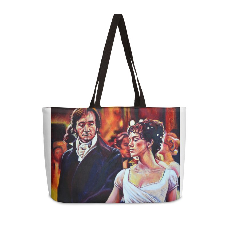 darcy-bennet Accessories Weekender Bag Bag by paintings by Seamus Wray