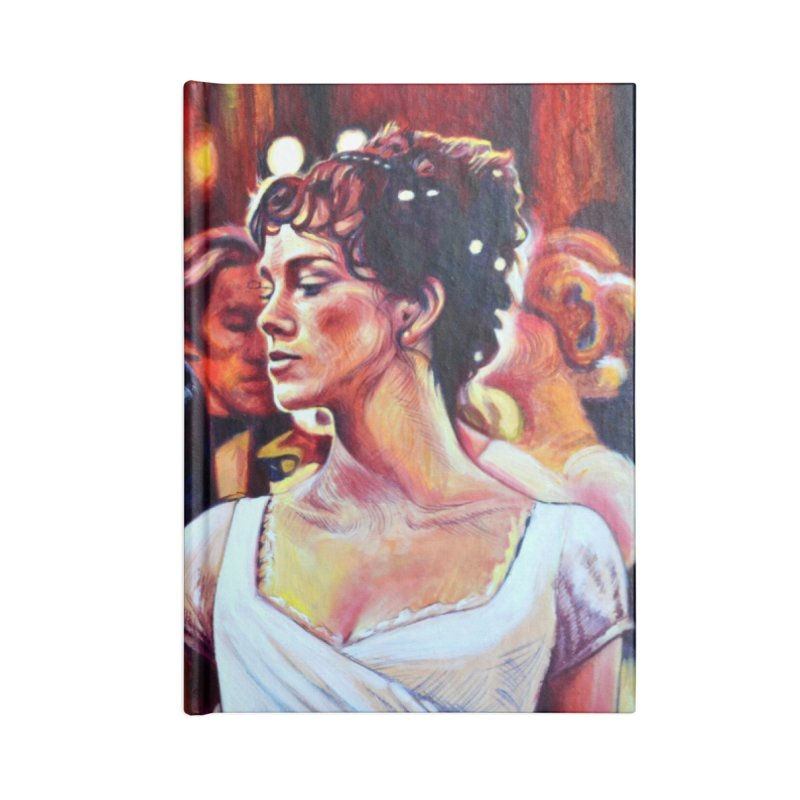 darcy-bennet Accessories Lined Journal Notebook by paintings by Seamus Wray
