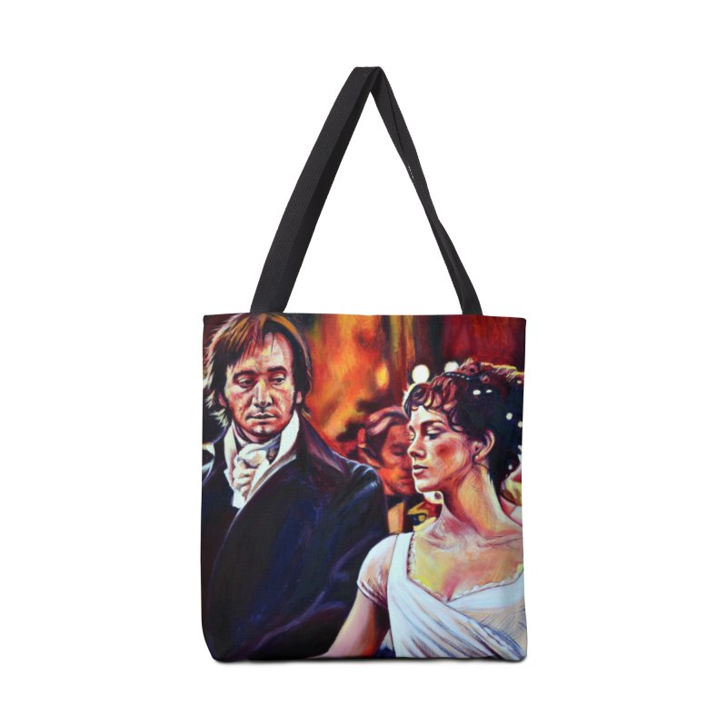 darcy-bennet Accessories Tote Bag Bag by paintings by Seamus Wray
