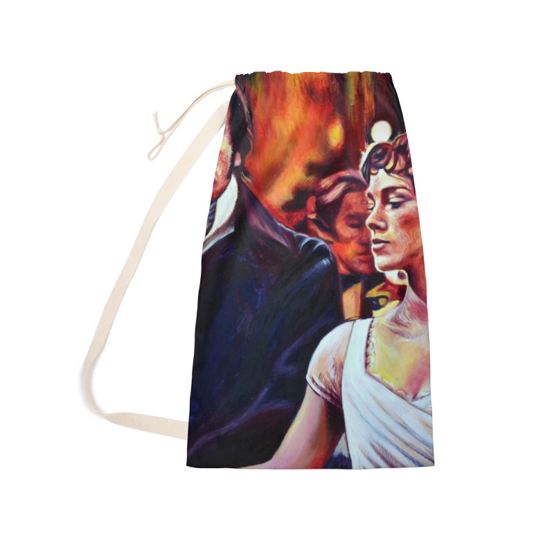 darcy-bennet Accessories Laundry Bag Bag by paintings by Seamus Wray
