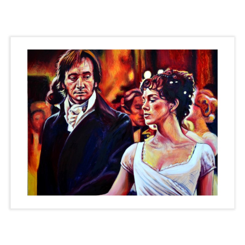 darcy-bennet Home Fine Art Print by paintings by Seamus Wray
