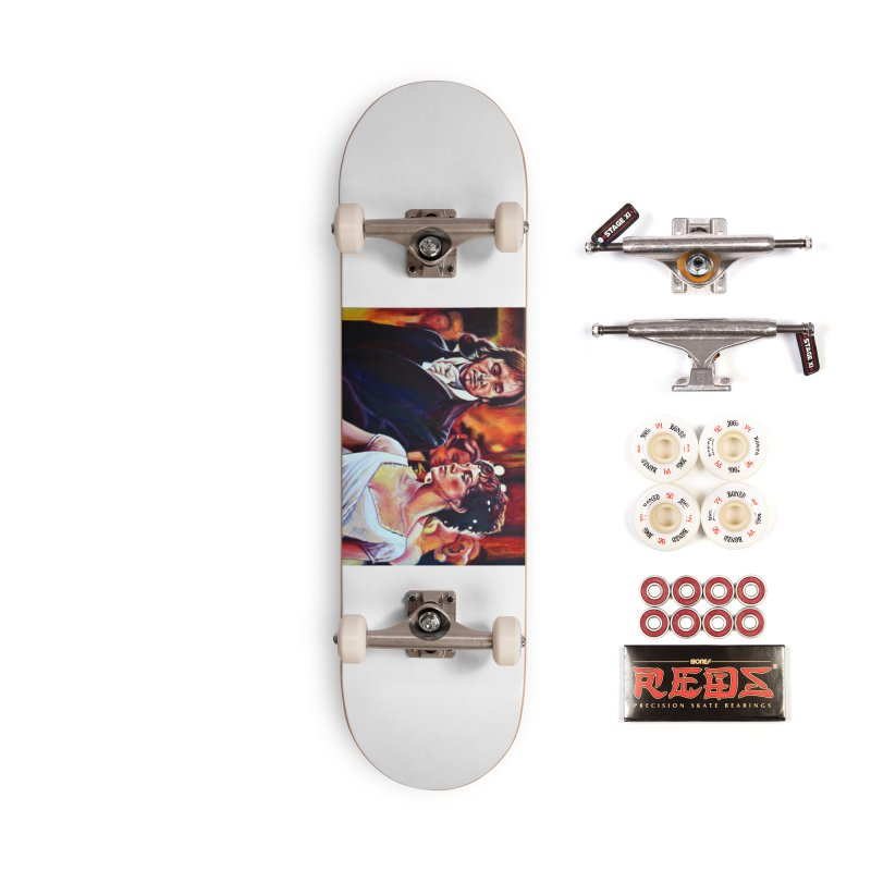 darcy-bennet Accessories Complete - Pro Skateboard by paintings by Seamus Wray