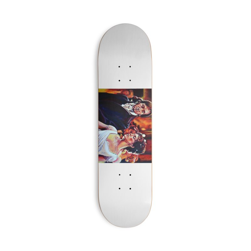 darcy-bennet Accessories Deck Only Skateboard by paintings by Seamus Wray