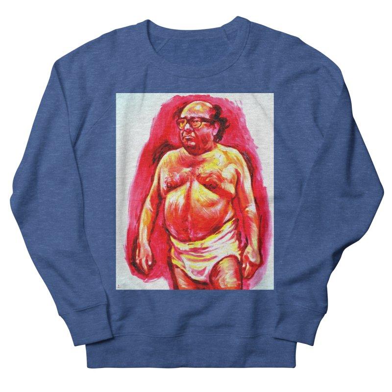 underwear Men's Sweatshirt by paintings by Seamus Wray