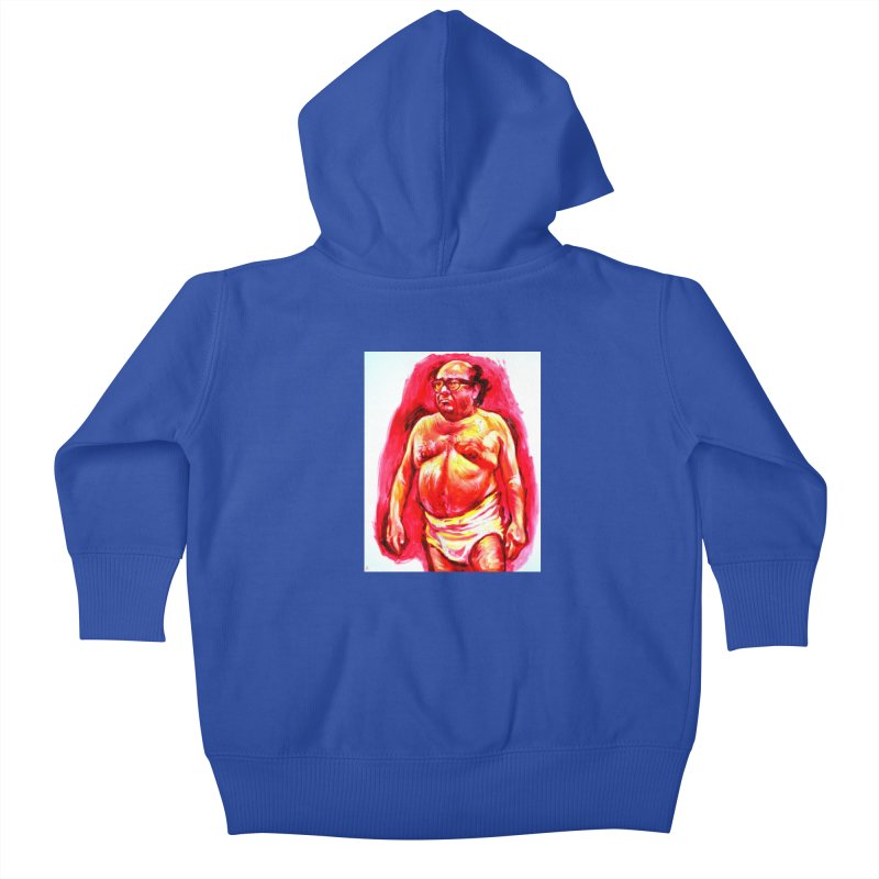 underwear Kids Baby Zip-Up Hoody by paintings by Seamus Wray