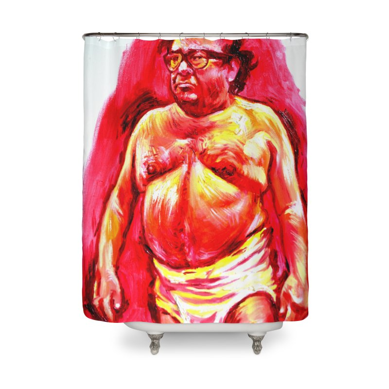 underwear Home Shower Curtain by paintings by Seamus Wray