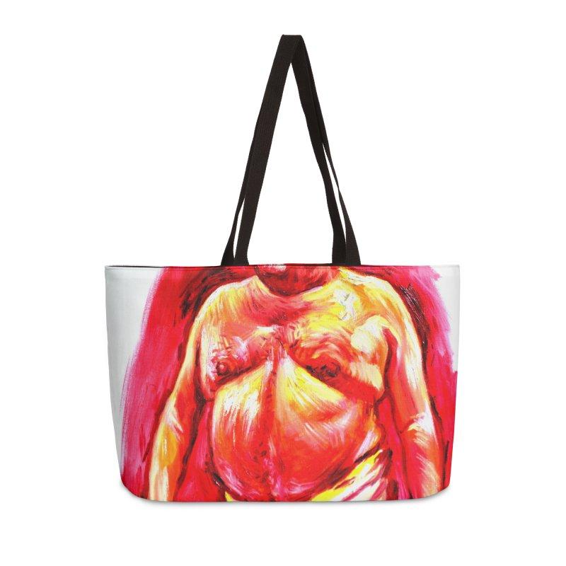 underwear Accessories Weekender Bag Bag by paintings by Seamus Wray