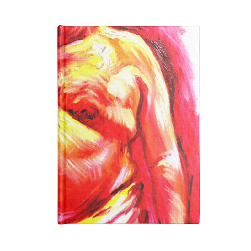underwear Accessories Blank Journal Notebook by paintings by Seamus Wray