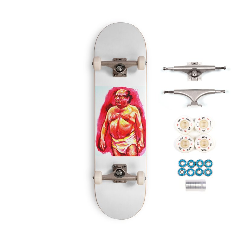 underwear Accessories Complete - Premium Skateboard by paintings by Seamus Wray