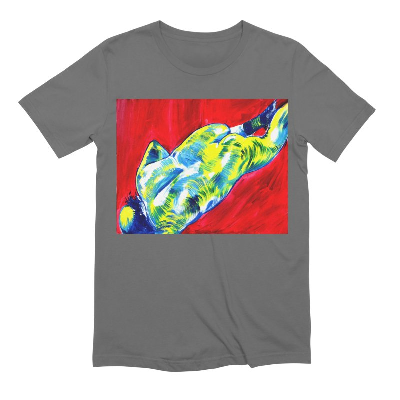 nude Men's T-Shirt by paintings by Seamus Wray