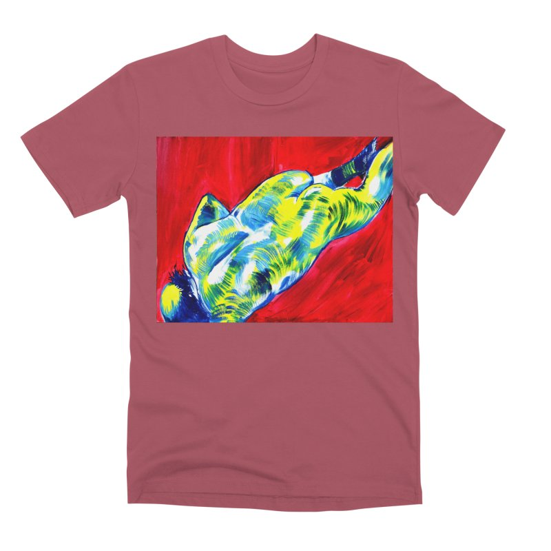 """nude Men's T-Shirt by Art Prints by Seamus Wray available under """"Home"""""""
