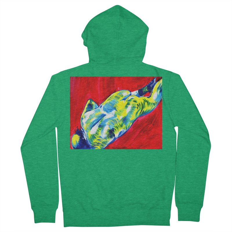 "nude Men's Zip-Up Hoody by Art Prints by Seama available under ""Home"""