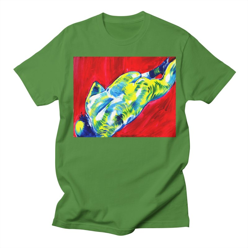 nude Women's Regular Unisex T-Shirt by paintings by Seamus Wray
