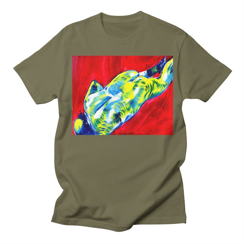 "nude Men's T-Shirt by Art Prints by Seama available under ""Home"""