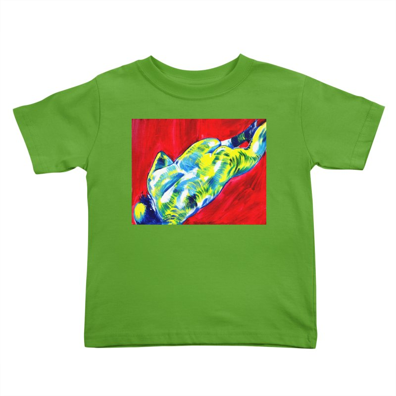 nude Kids Toddler T-Shirt by paintings by Seamus Wray