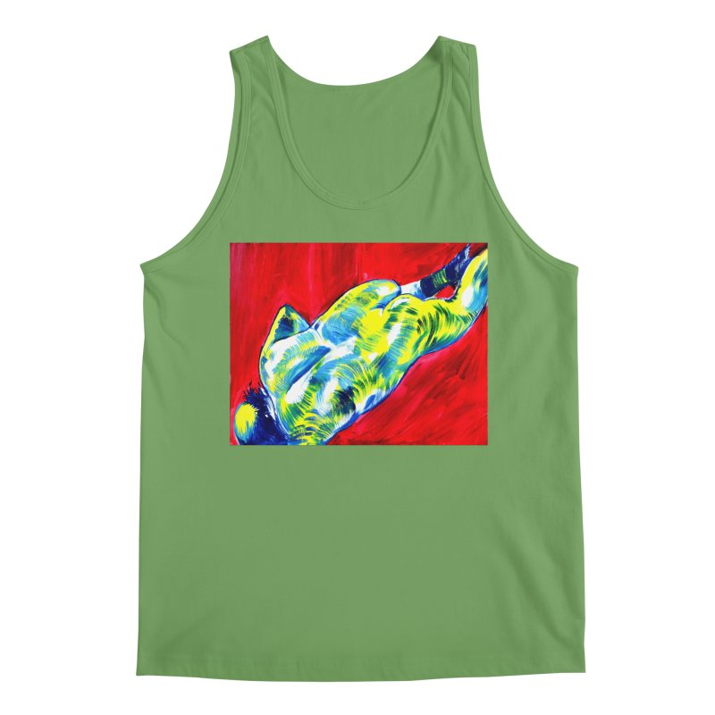 """nude Men's Tank by Art Prints by Seamus Wray available under """"Home"""""""