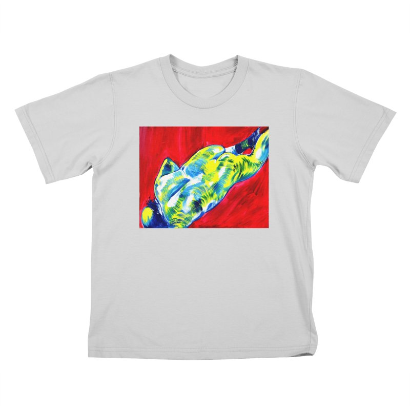 nude Kids T-Shirt by paintings by Seamus Wray