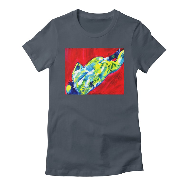 "nude Women's T-Shirt by Art Prints by Seama available under ""Home"""
