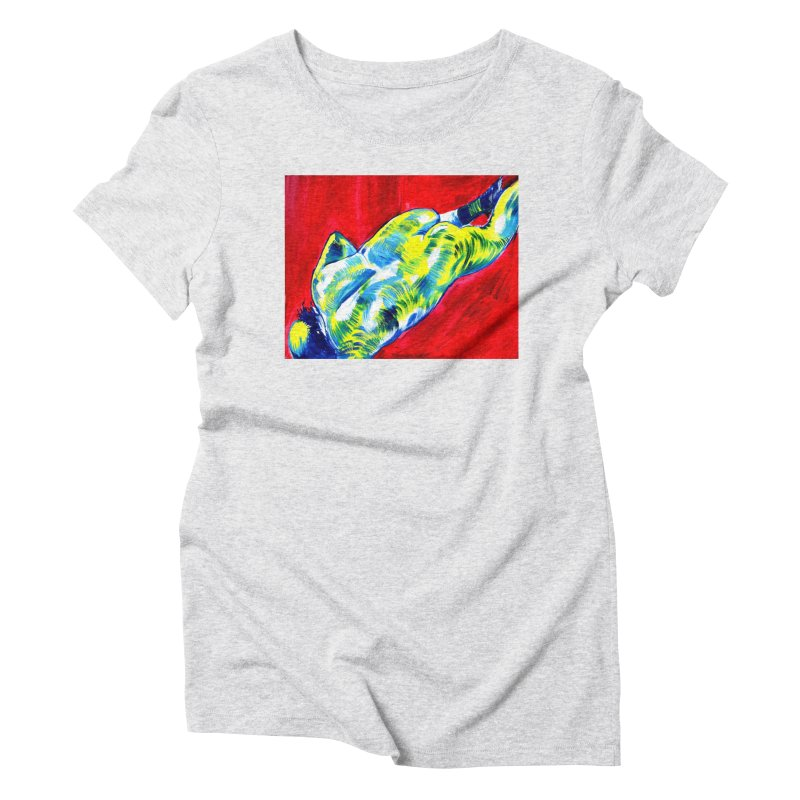 nude Women's T-Shirt by paintings by Seamus Wray