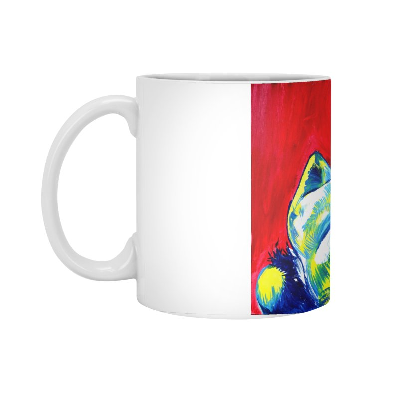 nude Accessories Mug by paintings by Seamus Wray