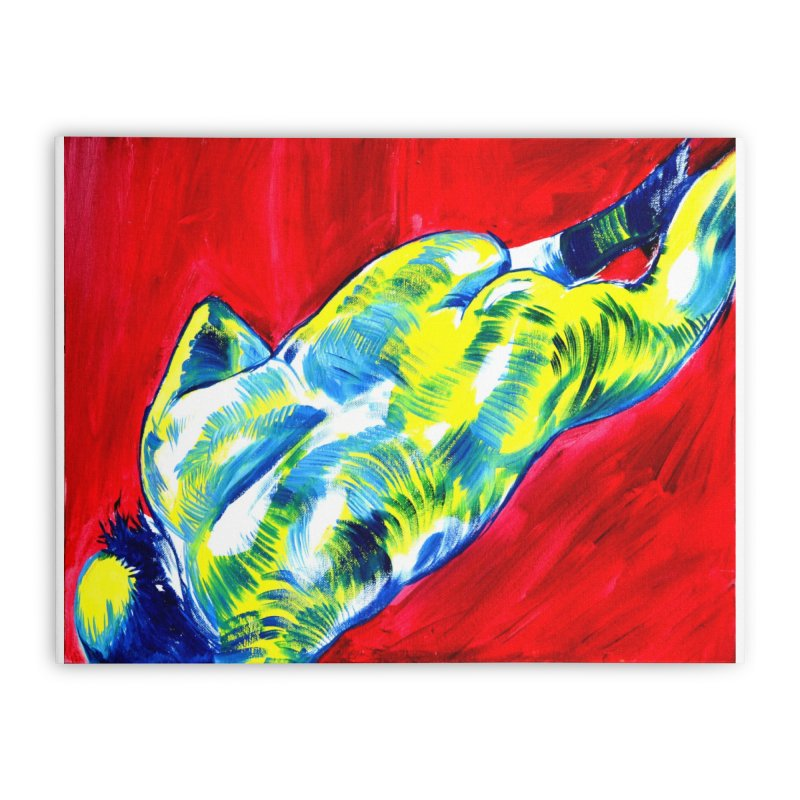 nude Home Stretched Canvas by paintings by Seamus Wray