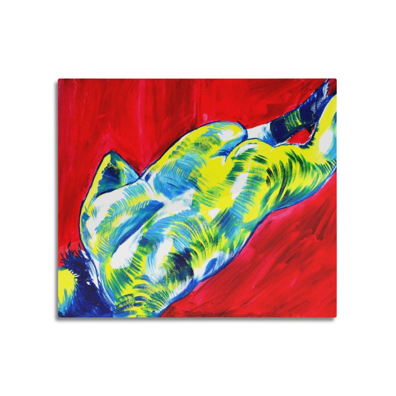 nude Home Mounted Acrylic Print by paintings by Seamus Wray