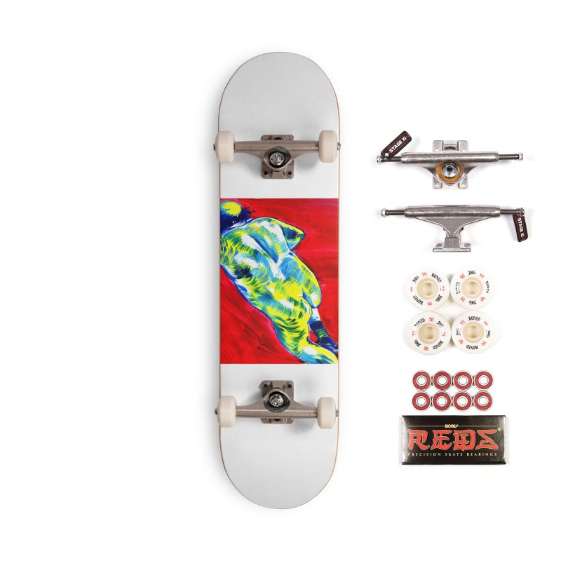 nude Accessories Complete - Pro Skateboard by paintings by Seamus Wray