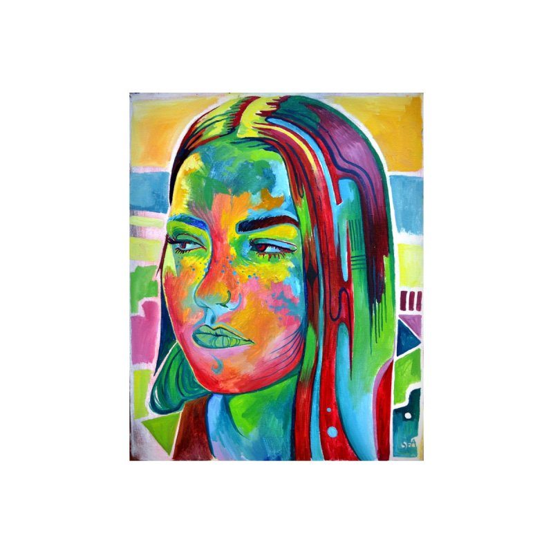 A Girl In Color   by seama's Artist Shop